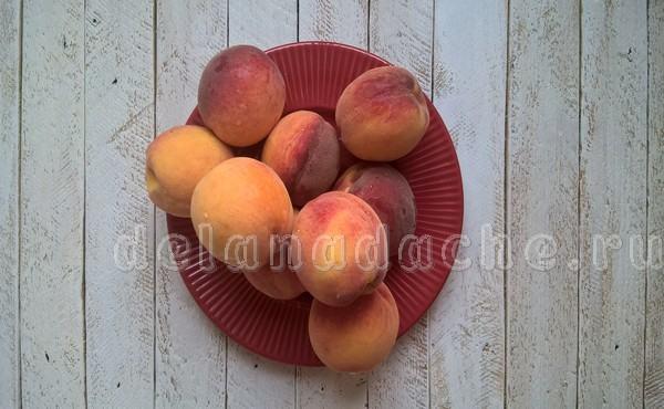 персики для пюре