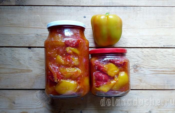 готовый перец в томате