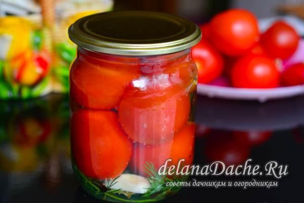 сладкие помидоры на зиму готовы