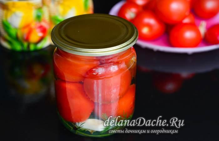 сладкие помидоры в рассоле